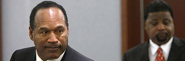 El tribunal considera a O.J. Simpson culpable de secuestro y robo