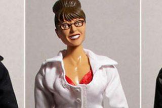 El muñeco Obama se desinfla ante la heroína Palin