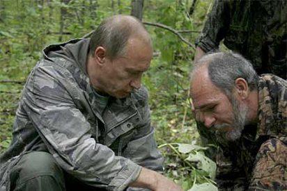 Putin dispara a un tigre siberiano y salva a un equipo de televisión
