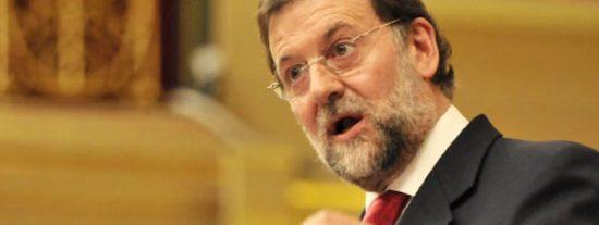 """Rajoy, a ZP: """"El problema no es nuestro sector industrial, el problema es usted"""""""