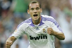 Sneijder hereda el '10' que dejó vacante Robinho