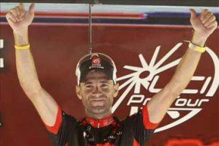Valverde, líder tras imponerse en la segunda etapa
