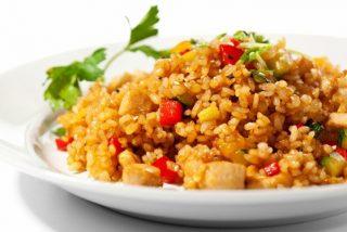 Receta de arroz con verduras y magro paso a paso 🍲