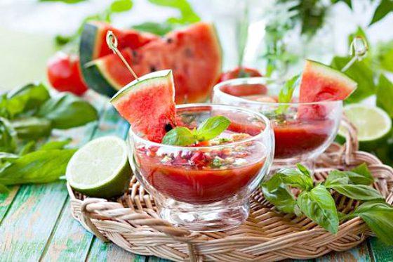 recetsas de verano gazpacho de sandía