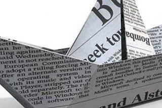 La prensa gratuita reduce plantillas