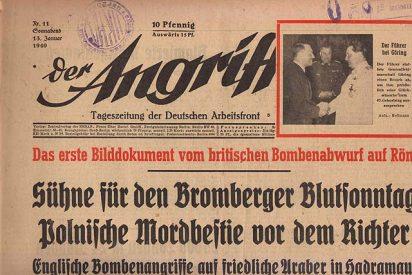 """Hitler """"resucita"""" y se agota en los quioscos alemanes"""