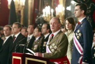 """La Casa Real deja sin el """"vino"""" a los periodistas en la celebración de La Pascua Militar"""