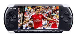 Arsenal FC y Sony lanzarían su sistema de fútbol en vivo para PSP el próximo año