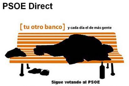El verdadero banco del PSOE