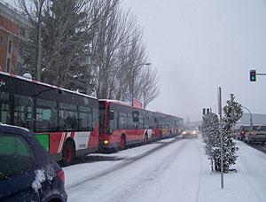La nieve obliga a cortar 14 puertos de montaña