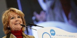 El montaje para desacreditar a Esperanza Aguirre se queda en humo