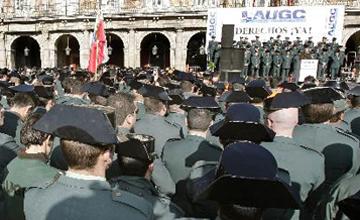"""Denuncian que la Guardia Civil es un """"coladero de gente con un coeficiente bastante bajo"""""""