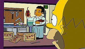 La 'islamofobia' de Homer Simpson