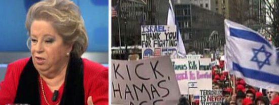 """María Antonia Iglesias: """"Israel utiliza el tema del Holocausto para confundir a la gente"""""""
