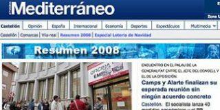"""Los trabajadores del periódico """"Mediterraneo"""" se rebelan contra el ERE de ZETA"""