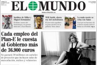 """Soraya culpa a Pedrojota: """"Si hubiera sabido que iba a salir en portada de la edición diaria, habría pedido la dimisión de Solbes"""""""