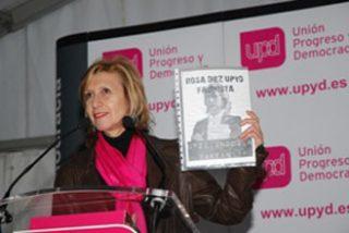"""Rosa Díez, a los proetarras: """"No les vamos a dejar en paz hasta que salgan de nuestras vidas"""""""