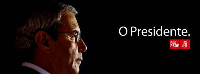 Touriño quiere que le confundan con Obama