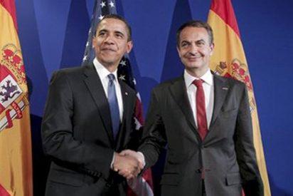 Zapatero se entrevista con Obama en la Casa Blanca entre críticas de la prensa internacional