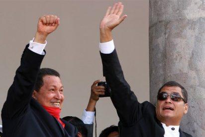 Chávez y Correa refuerzan su alianza