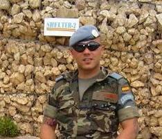 """""""Agradecemos el servicio de los soldados de España a la paz y la justicia"""""""