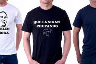 """El """"sigan chupando"""" de Maradona, motivo para camisetas"""