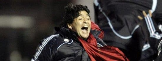 """Maradona: """"Que la chupen y sigan chupando"""""""