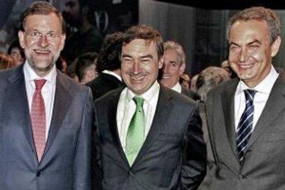 Los desmesurados elogios de El Mundo a Zapatero por asistir a su fiesta