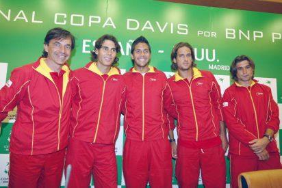 Nadal, Verdasco, Ferrer y López, el póker de ases para la final de la Davis