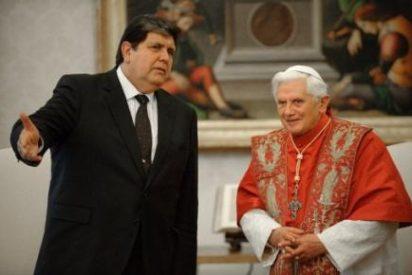 El Papa recibe a Alan García