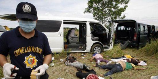 La Prensa: 'Decapitada' en Filipinas
