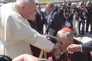 El acto de las familias se transforma en un homenaje europeo a Juan Pablo II