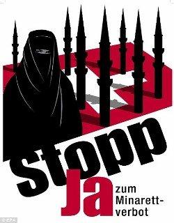 El Vaticano critica el rechazo a los minaretes en Suiza