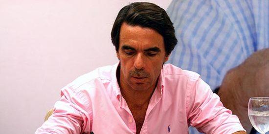 Aznar acusa a Zapatero de ser el presidente más antisocial de la democracia