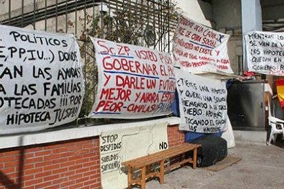 Marcha de protesta hasta el Palacio de la Moncloa