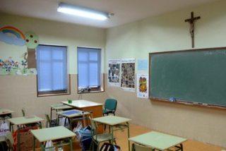 ERC registra en el Congreso su iniciativa para retirar crucifijos de las aulas