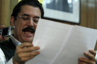 Zelaya renuncia a volver al poder en Honduras tras las elecciones del 29 de noviembre