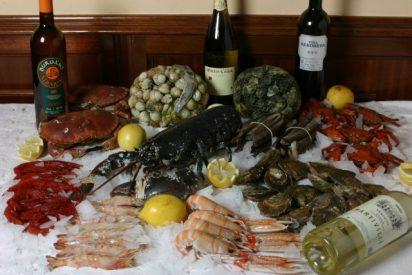 Esta Navidad toca comer la mitad de marisco, en especial, gambas