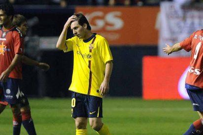 Barça gobierna el partido, pero regala el empate a Osasuna con un autogol en el último minuto