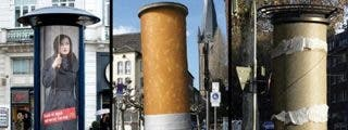 Las mejores campañas publicitarias en el mobiliario urbano