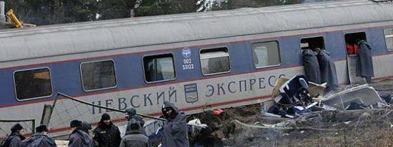 Un atentado contra un tren provoca más de 26 muertes en Rusia
