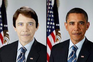 Los detractores de Obama lo ven más negro de lo que es...de color de piel