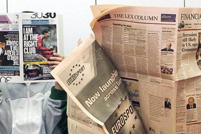 Los diarios de papel se 'arrugan' por las grandes pérdidas que sufren