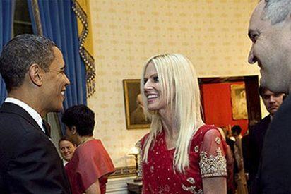 Los intrusos de la Casa Blanca llegaron a saludar a Obama