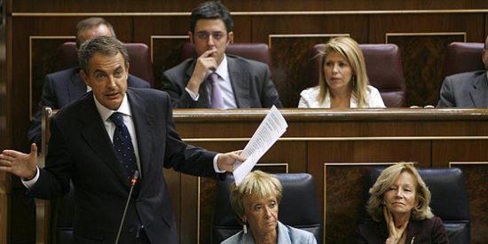 El Gobierno Zapatero está catatónico