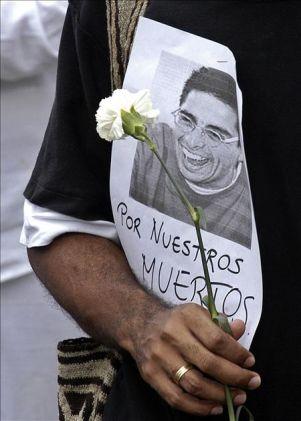 Siete asesinatos de periodistas colombianos siguen impunes