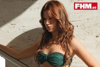 La actriz de 'FOQ' Úrsula Corberó posa ligera de ropa para FHM