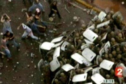 La TV francesa utiliza una imagen de Honduras para hablar de la violencia en Irán