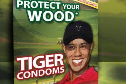 """Condones Tiger Woods: """"Lleva tus bolas más lejos"""""""