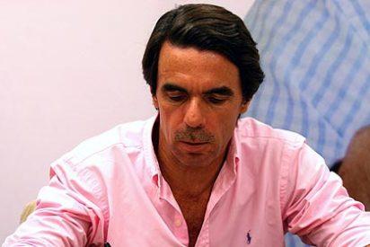 """Aznar: """"La política exterior de Zapatero es la de rendirse y pagar"""""""